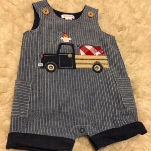 Mudpie baby boy outfit